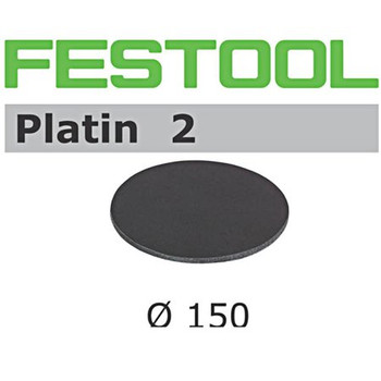 Festool Platin 2 | 150 Round | 500 Grit | Pack of 15 (492369)