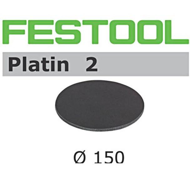 Festool Platin 2   150 Round   4000 Grit   Pack of 15 (492372)