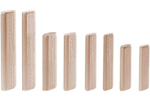 Festool Domino Tenon, Beech Wood, 8 X 22 X 40mm, 130-pack (494940)
