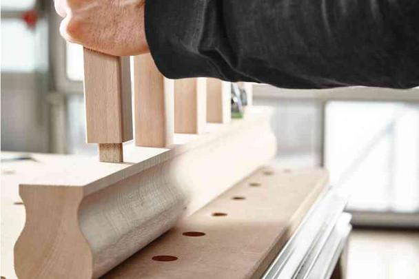 Festool Domino Tenon, Sipo Mahogany For Outdoor Use, 6 x 20 x 40mm, 190-Pack (494870)