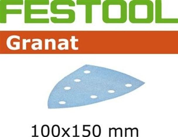 Festool Granat   100 x 150 DTS 400   120 Grit   Pack of 10 (497133)