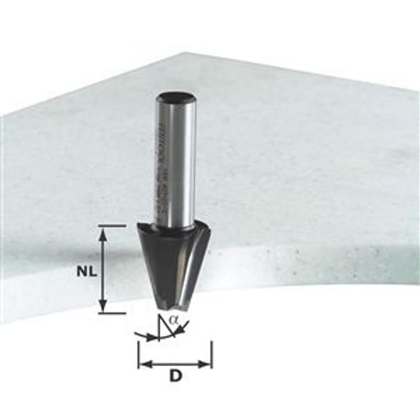 Festool Chamfer bit w/cut edge HW 23mm