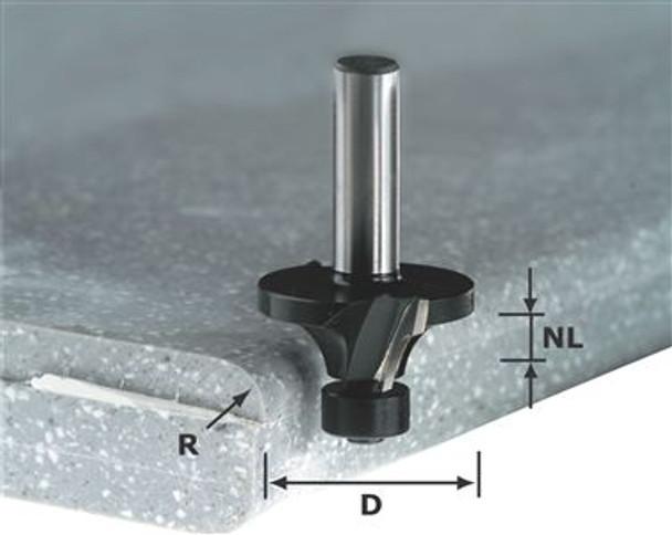 Festool Edge-rounding bit w/b HW 22mm