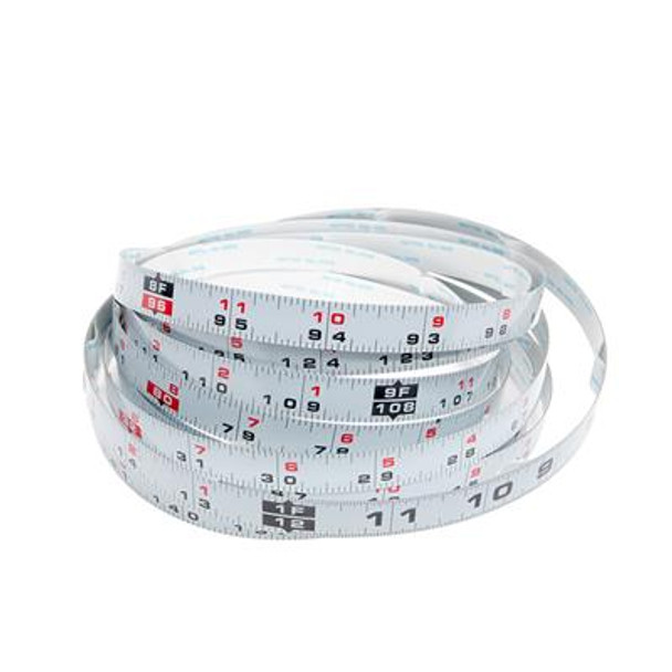 Kreg 12' Self-Adhesive Measuring Tape - Left to Right Reading (KMS7724)