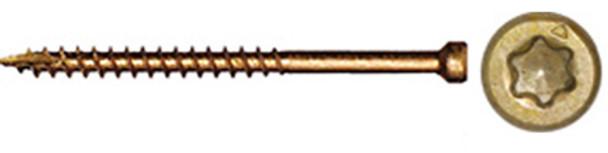 "GRK FIN/TRIM #8 x 1-1/2"" Trim Head Screw Bulk (6,500 pcs) (15724)"