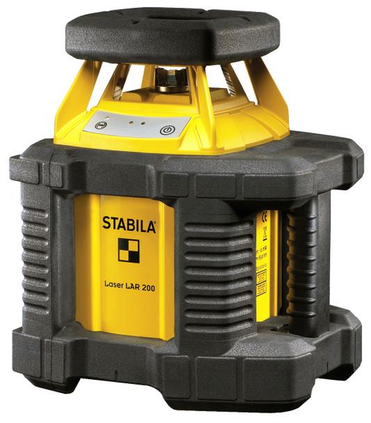 Stabila LAR200 Exterior Self-Leveling Laser System w/Tripod and Grade Rod (05500)
