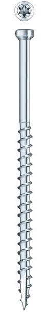 "GRK PHEINOX FIN TRIM Stainless Steel #8 x 2-1/2"" (100 pcs) (37730)"