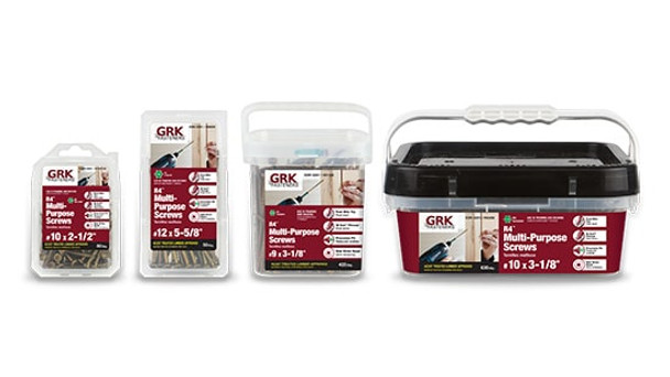 "GRK R4 Bulk #12 x 6-3/8"" (1000 pcs) (00177)"