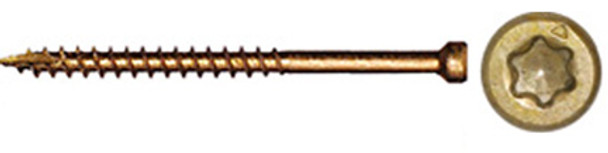"GRK FIN TRIM Bulk Box #8 x 3-1/8"" (2500 pcs) (15734)"