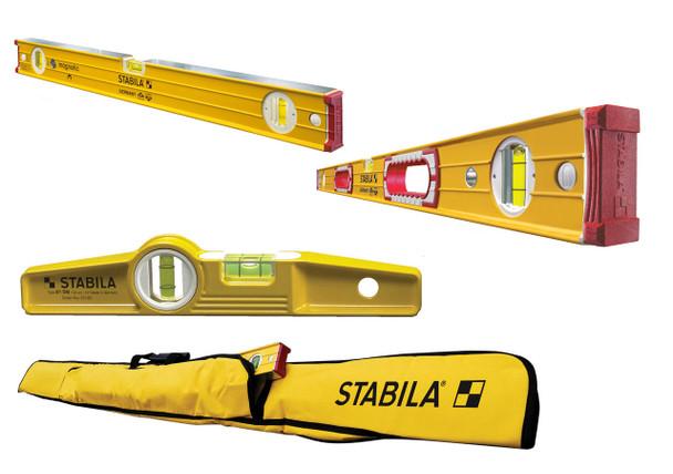Stabila Magnetic 3 Level Set (48380)