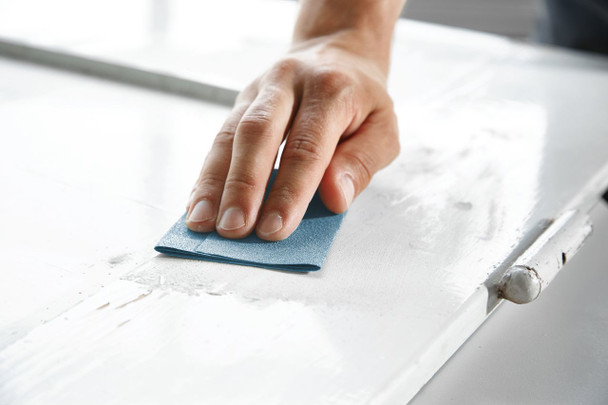 """Festool Granat   Sheet Paper 9""""x11""""   320 Grit - example 2"""