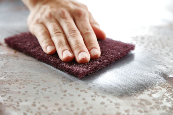 "Festool Vlies | Hand Sanding Pads 4-1/2"" x 6"" - example 2"