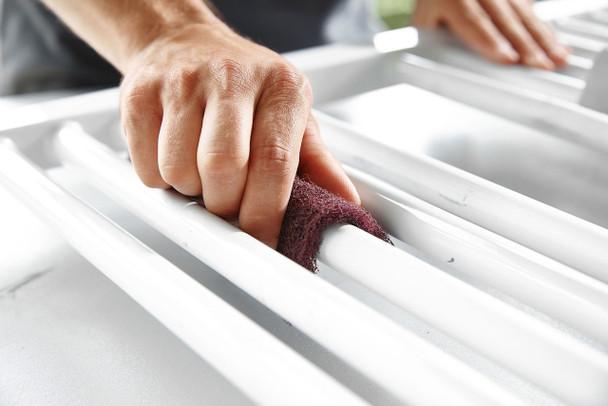 "Festool Vlies | Hand Sanding Pads 4-1/2"" x 6"" - example"