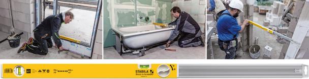 "Stabila 80T 36""-59"" Adjustable Length Level - workshop example"