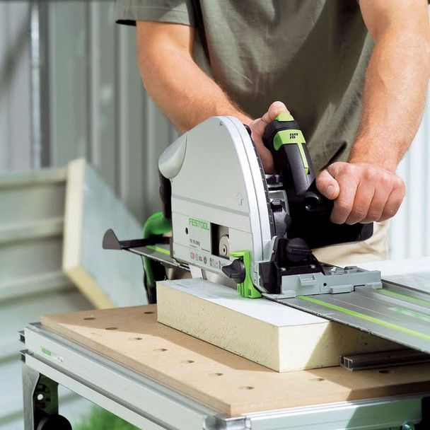 Festool TS 75 EQ Plunge Cut Circular Saw IMPERIAL - workshop example