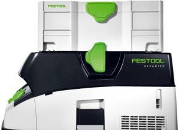 Improved hose garage with T-LOC for Festool Dust Extractor CT 26 E HEPA (574930)