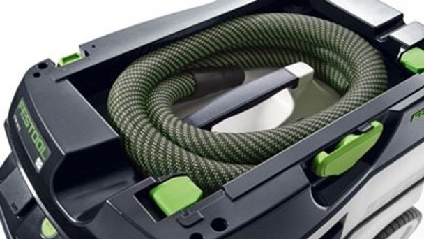 Festool Dust Extractor CT 36 E HEPA - overhead view