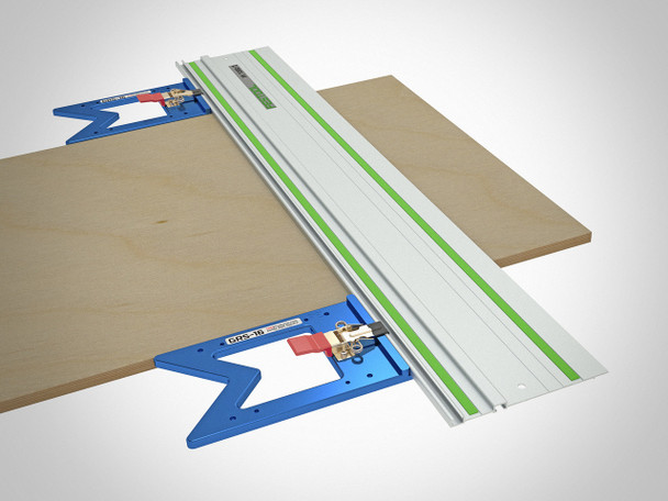 TSO GRS-16 PE Parallel Edge Guide Rail Square - example