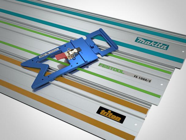TSO GRS-16 PE Parallel Edge Guide Rail Square