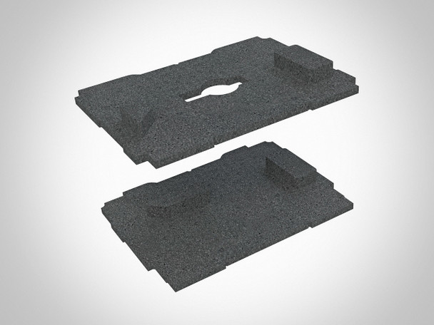 TSO Dual FoamPac Systainer Insert for GRS-16 Family