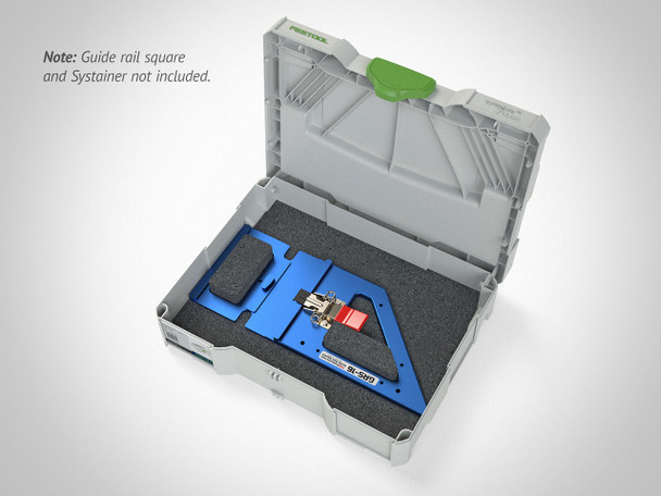 TSO Dual FoamPac Systainer Insert for GRS-16 Family open 2