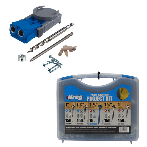 Kreg Jig R3 + Screw Kit Bundle