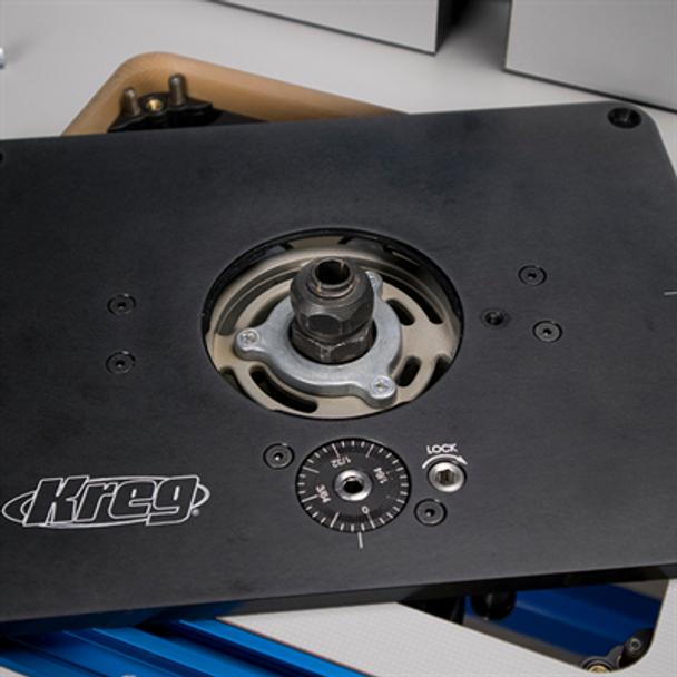 Kreg Precision Router Lift - close up