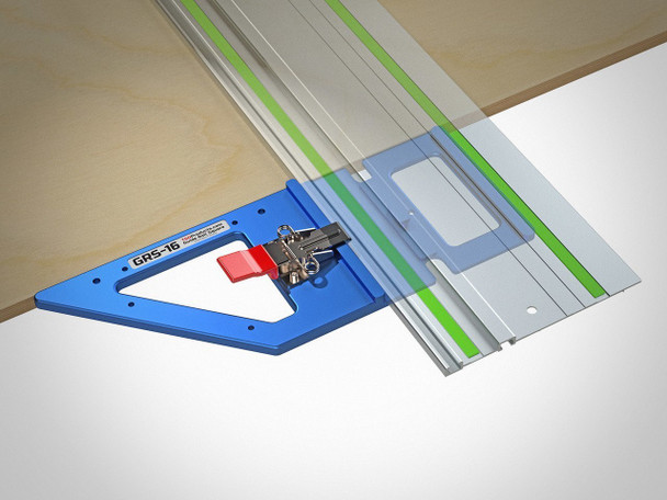 TSO GRS-16 Guide Rail Square w/ Systainer and Foam Insert - example