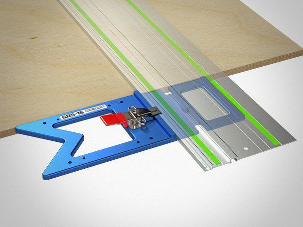 TSO GRS-16 Guide Rail Square w/ Systainer and Foam Insert - example 3