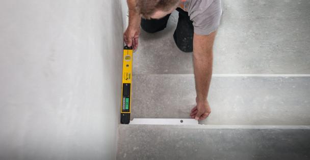 "Stabila Tech 700 DA Digital Angle Finder 18"" - staircase example"