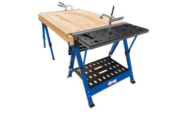 Kreg Track Horse - with extended table