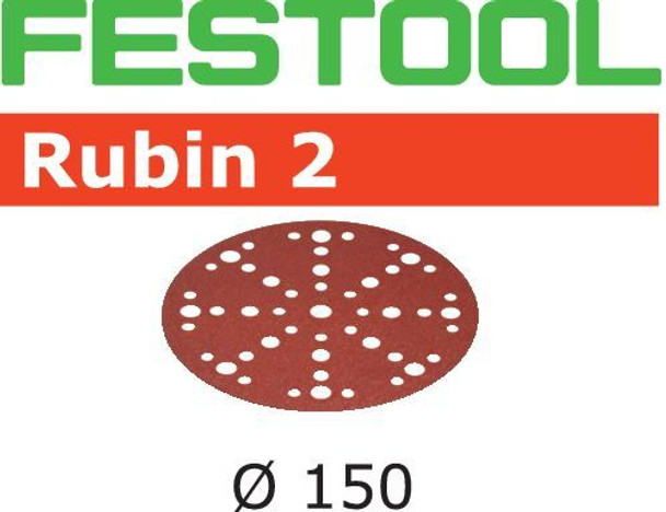 Festool Rubin 2 | 150 Round | 40 Grit