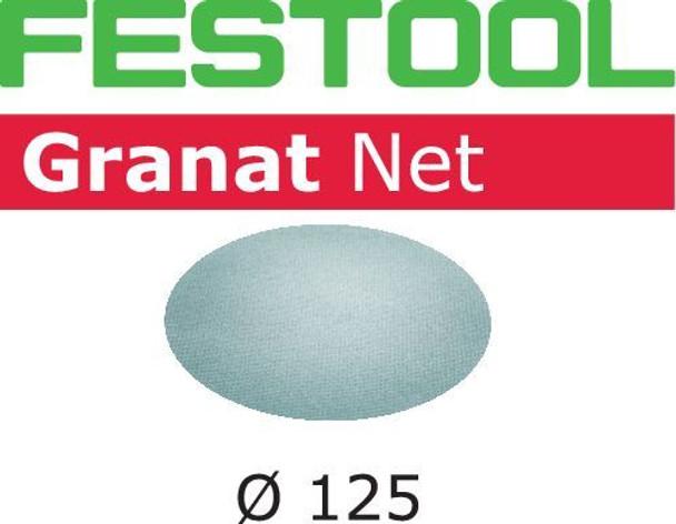 Festool Granat Net   D125 Round   100 Grit