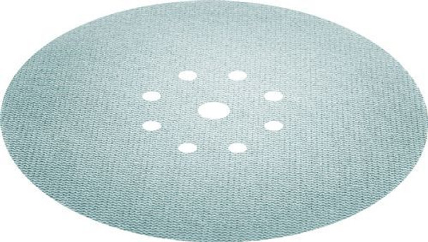 Festool Granat Net | D225 Round | 80 Grit -close up