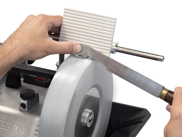 Tormek Tool Rest SVD-110 - example