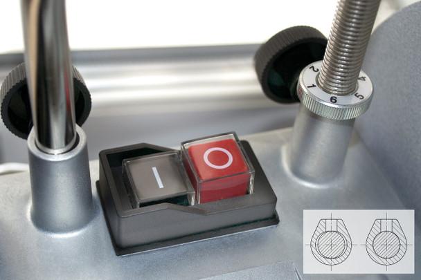 Tormek T-4 - on/off switch