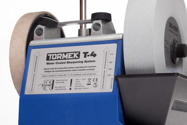 Tormek T-4 - back view