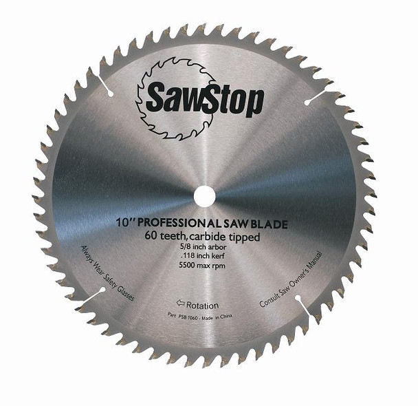 Combination Table Saw Blade 60 Tooth