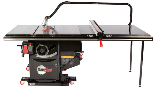 """Industrial Cabinet Saw 3HP, 1ph, 230v, w/ 52"""" Industrial T-Glide fence system"""