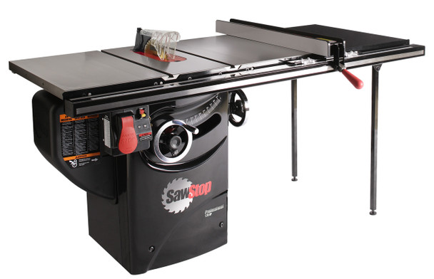 "Professional Cabinet Saw 1.75HP, 1ph, 120v, w/ 36"" Professional T-Glide fence system"