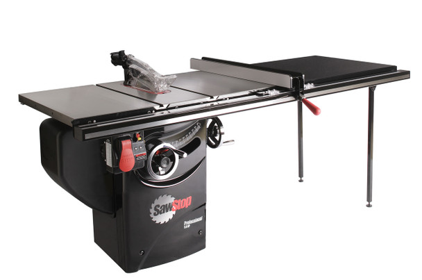 """Professional Cabinet Saw 3HP, 1ph, 230v, w/ 52"""" Professional T-Glide fence system"""