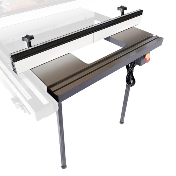 """In-Line Router Table 30"""" for Industrial Cabinet Saw"""