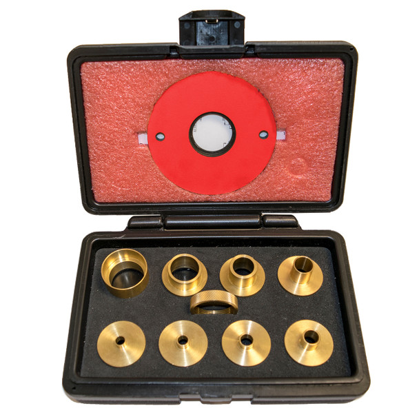9 pc Brass Precision Template Guide Set