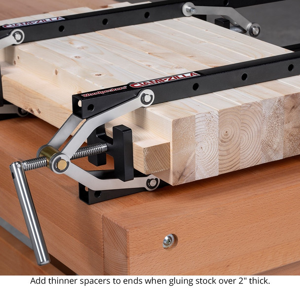 Woodpecker Clampzilla Panel Clamp 2 pack - ONE-TIME TOOL