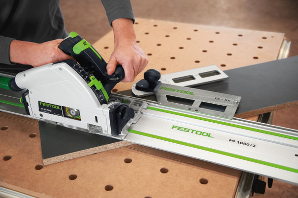 Festool TS 55 REQ-F-Plus Plunge Cut Saw w/o Guide Rail - example