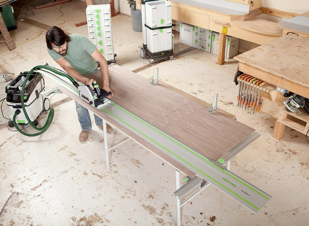 Festool TS 55 REQ-F-Plus Plunge Cut Saw w/o Guide Rail - workshop example