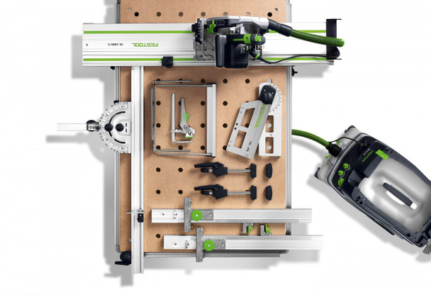 Festool TS 55 REQ-F-Plus Plunge Cut Saw w/o Guide Rail - with tools