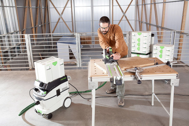 Festool TS 55 REQ-F-Plus Plunge Cut Saw w/o Guide Rail - workshop example 2