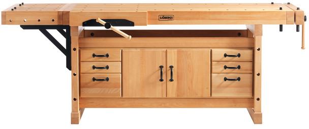 Sjobergs Elite 2500C Professional Workbench + SM04 Cabinet + Accessory Kit (SJO-99403K)