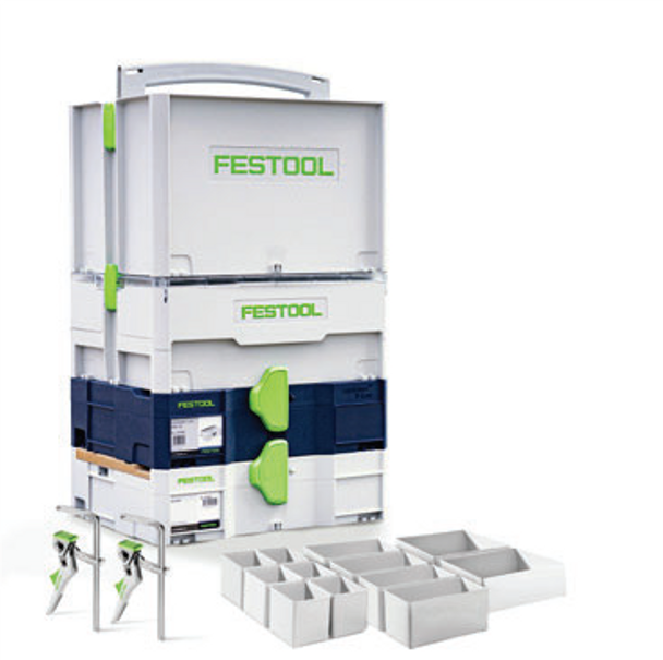 Festool Limited Edition Systainer T-LOC Installer's Set (576913)